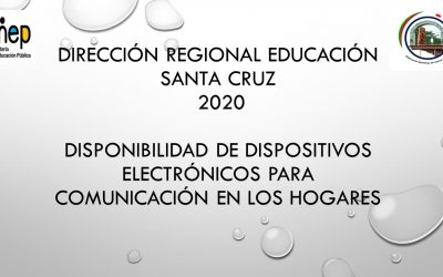 Disponibilidad de dispositivos electrónicos para comunicación en los HOGARES