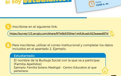 Simulacro Virtual de Evacuación. ¿Cómo participar si soy estudiante?