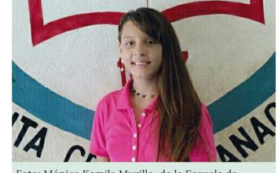 Alumna de Escuela Huacas de Santa Cruz,  ganadora  de  tercer lugar de MI CUENTO FANTÁSTICO 2020 a nivel nacional.