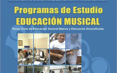 Programa de Estudio Secundaria Educación Musical